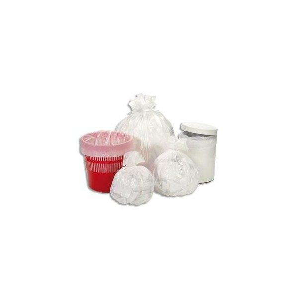 SACS POUBELLES Boîte de 1000 Sacs poubelles 5-6 litres blanc