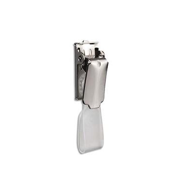 PAVO Boîte 25 Clip métal avec lanières pour porte-badges