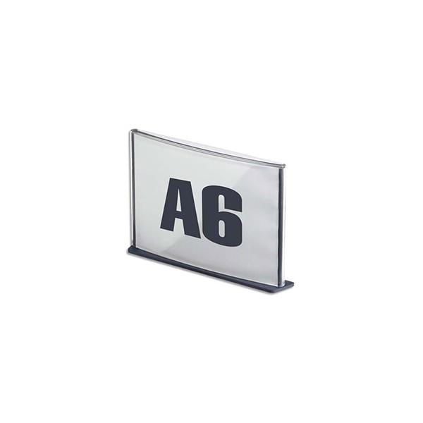 PAPERFLOW Plaque de porte format A6 coloris anthracite