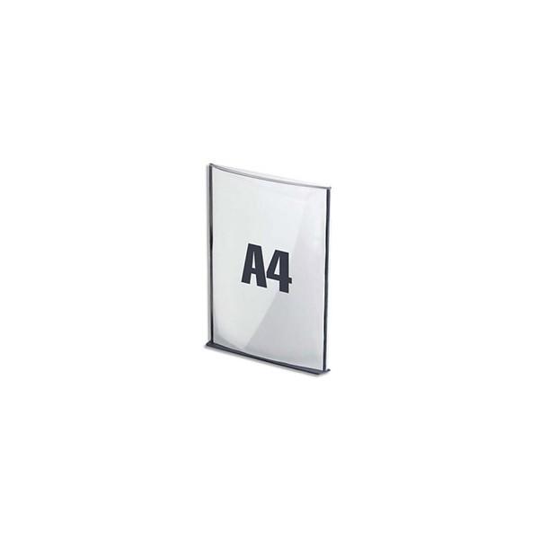 PAPERFLOW Plaque de porte format A4 coloris anthracite