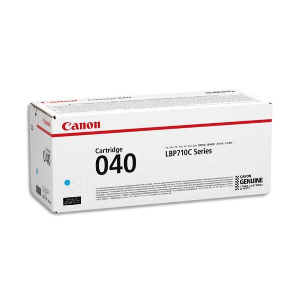 CANON Cartouche toner laser cyan 040