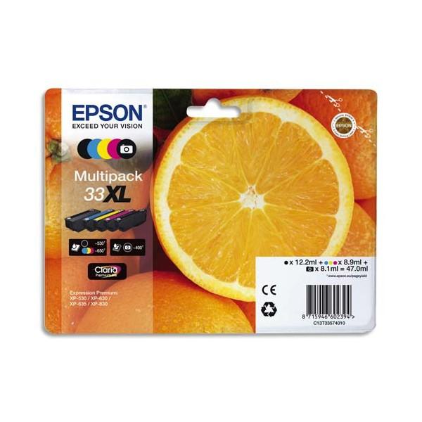 EPSON Multipack cartouches jet d'encre T3357