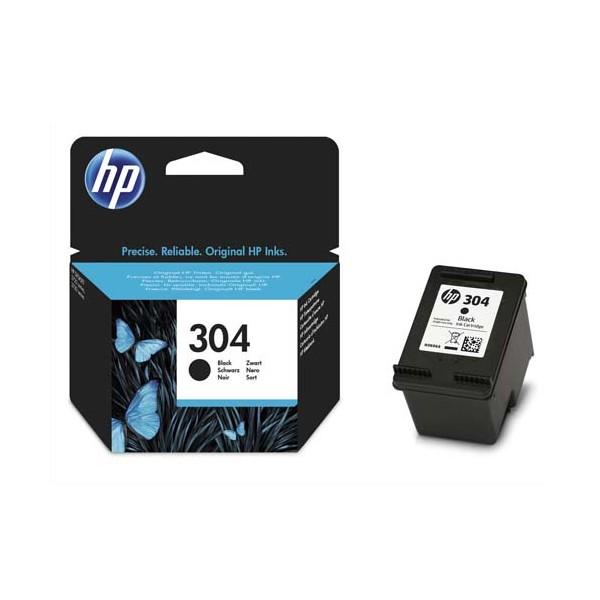 HP Cartouche jet d'encre noir N°304