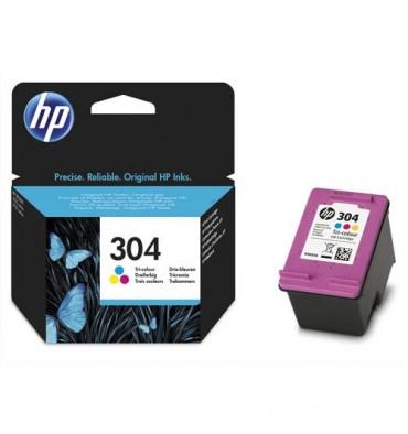 HP Lot de 3 cartouches jet d'encre couleur n 304