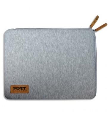 "PORT DESIGNS Folio torino sleeve gris 10/12,5"""