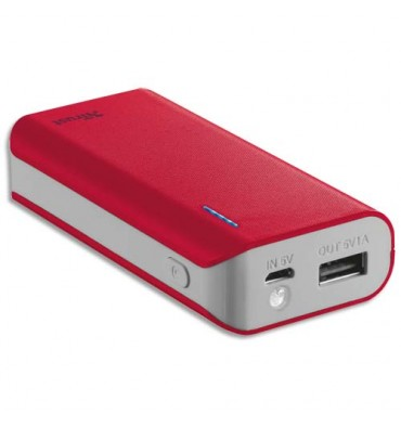 TRUST URBAN Chargeur Primo 4400 mAh rouge