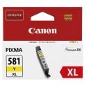 CANON Cartouche jet d'encre 581 jaune XL 2051C001