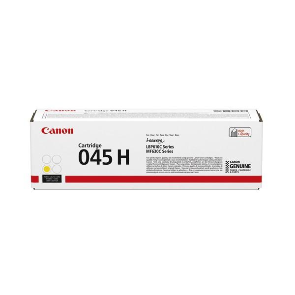 CANON Cartouche toner laser 045H jaune 1243C002