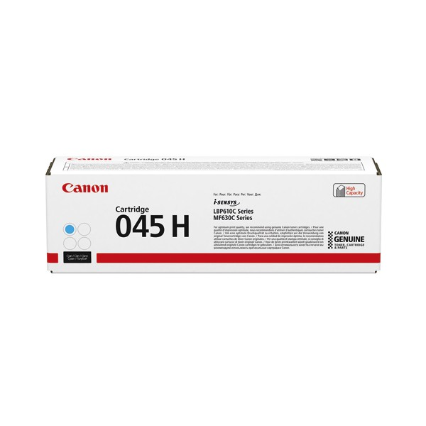 CANON Cartouche toner laser 045H cyan 1245C002
