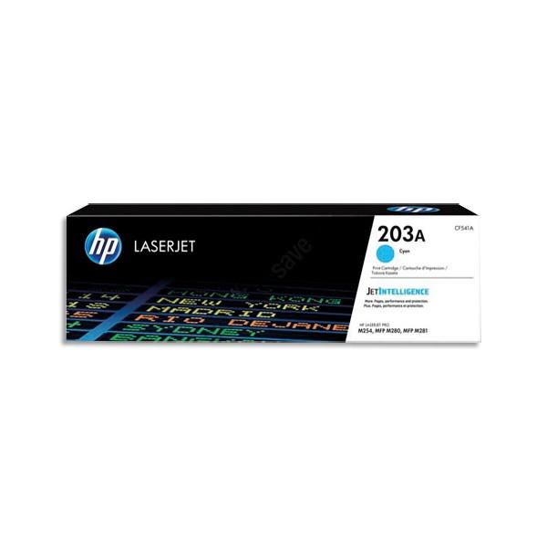 HP Cartouche toner laser cyan 203A - CF541A