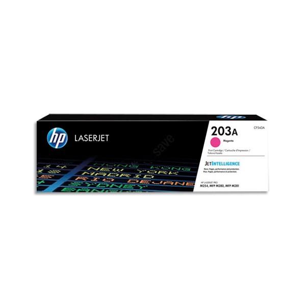 HP Cartouche toner laser magenta 203A - CF543A