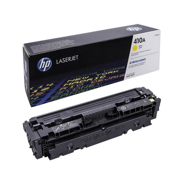 HP Cartouche toner laser jaune 410A - CF412A