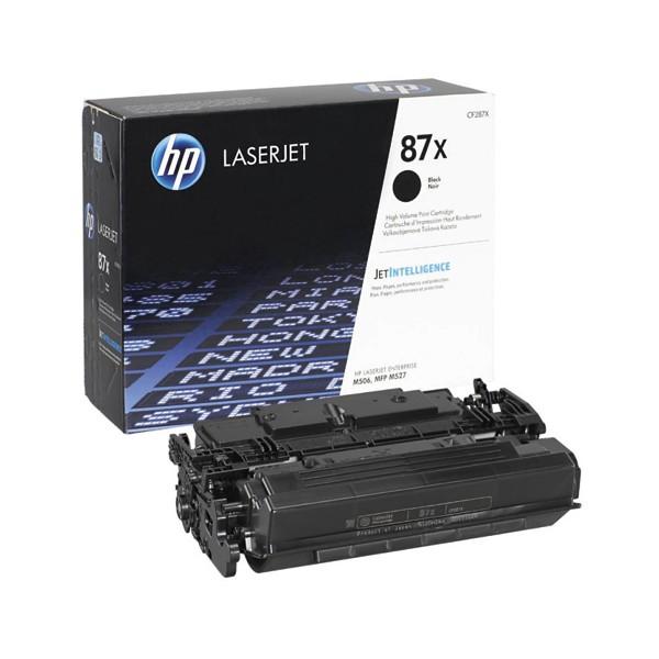 HP Cartouche toner laser noir 87X - CF287X