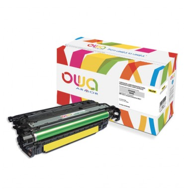 OWA BY ARMOR Cartouche toner laser jaune compatible HP CF332A