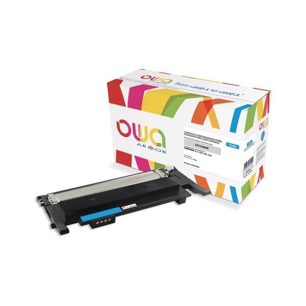 OWA Cartouche toner laser  compatible pour SAMSUNG cyan CLT-C404S
