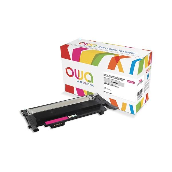 OWA Cartouche toner laser compatible pour SAMSUNG magenta CLT-M404S