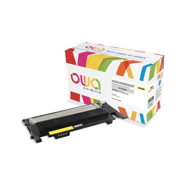 OWA Cartouche toner laser compatible pour SAMSUNG jaune CLT-Y404S