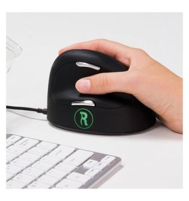 R GO TOOLS R-go HE mouse break , souris ergonomique,logiciel anti-rsi,S/M, droite, filaire RGOBRHESMR