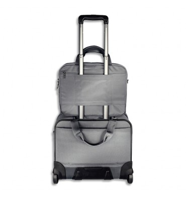 "LEITZ Trolley gris + sac PC 15,6"" gris + housse tablette"