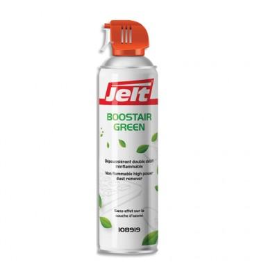 JELT Aérosol dépoussiérant BOOSTAIR GREEN gaz1234ze HFO sans HFC 650ml/500g 108919