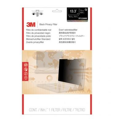 """MMM Filtre de confidentialité Noir Touch écran bord à bord pour PC portable de 13,3"""" 16:09 PF133W9E"""