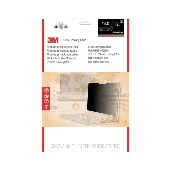 MMM Filtre de confidentialité Noir Touch écran bord à bord pour PC portable 14,0