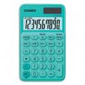 CASIO Calculatrice de poche à 10 chiffres SL-310UC-GN-S-EC, coloris vert