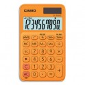 CASIO Calculatrice de poche à 10 chiffres SL-310UC-RG-S-EC, coloris orange