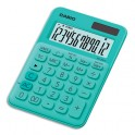 CASIO Calculatrice de bureau à 12 chiffres MS-20UC-GN-S-EC, coloris vert