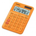 CASIO Calculatrice de bureau à 12 chiffres MS-20UC-RG-S-EC, coloris orange