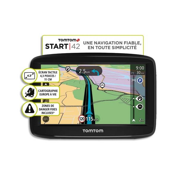tomtom gps tom start 42 europe 45 direct. Black Bedroom Furniture Sets. Home Design Ideas