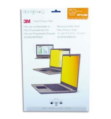 """3M Filtre de confidentialité or pour ordinateur portable 13,3"""""""