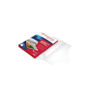 PERGAMY Boîte de 100 pochettes de plastification 2x125 microns 54x86mm 900128