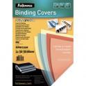 FELLOWES Boîte de 100 plats de couvertures transparent 30/100e incolore 300 microns 53763