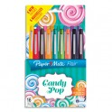 PAPERMATE Pochette 16 feutres FLAIR CANDY POP & TROPICAL assortis
