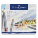 FABER CASTELL Etui de 24 crayons de couleur GOLDFABER aquarellables. Coloris assortis