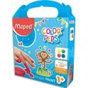 MAPED Peinture au doigt Color'Peps EARLY AGE, 4 pots de 80g