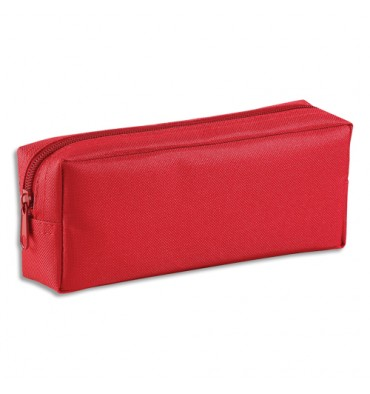 VIQUEL Trousse rectangle SOLO 21 x 8 x 5 cm Nylon rouge