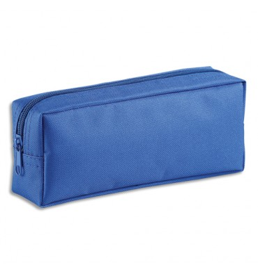 VIQUEL Trousse rectangle SOLO 21 x 8 x 5 cm Nylon bleu