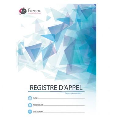 FUZEAU Registre d'appel avec découpe du 1er Août au 31 juillet, format A4