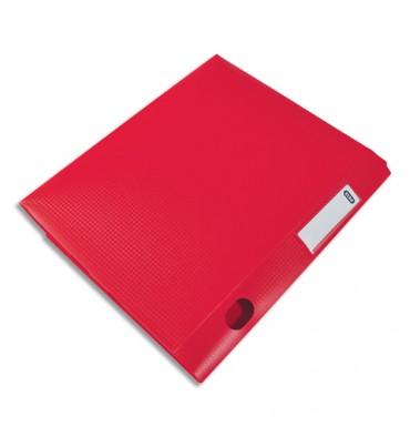 ELBA Boîte classement non montée Memphis en polypropylène 7/10e. Dos 4 cm. Coloris Rouge
