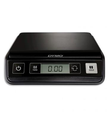 DYMO Pèse-lettres M1 noir capacité 1 Kg, numérique, 3 piles AAA non fournies L23,1 x H5,8 x P19,7 cm