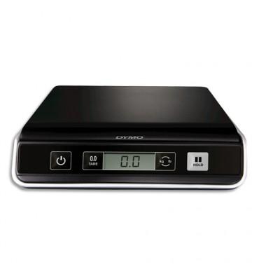 DYMO Pèse-paquets M5 noir capacité 5Kg, numérique USB, 3 piles AAA non fournies L28 x H5,8 x P24,7 cm
