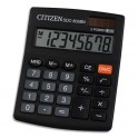 CITIZEN Calculatrice semi-bureau 8 chiffres SDC805BN