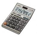 CASIO Calculatrice de Bureau à 12 chiffres DF-120BM, coloris gris et bleu