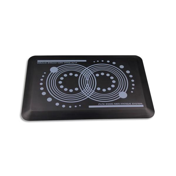 AFS-1EX Tapis antifatigue noir S2000 en polyuréthane, réduit la pression sur le corps L80 x H1,8 x P50 cm (photo)