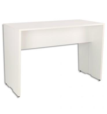 GAUTIER Table haute connectée YES Blanc, livré avec top access et 2 boîtiers L160 x H105 x P80 cm