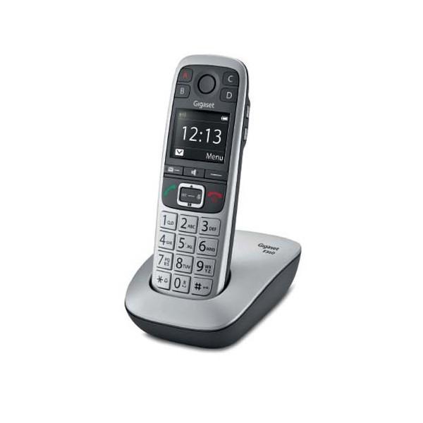 GIGASET Téléphone sans fil silver solo E560