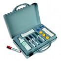 VANERUM Kit malette conférence contenant 4 feutres, 8 aimants, 1 effaceur et 1 Spray nettoyant de 200ml