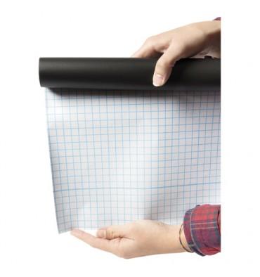 SECURIT Rouleau ardoise auto-adhésive Noir, pour surfaces lisses - Format : L100 x H45 cm